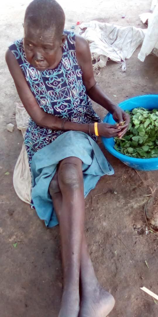 Santina Ramba i Sydsudan