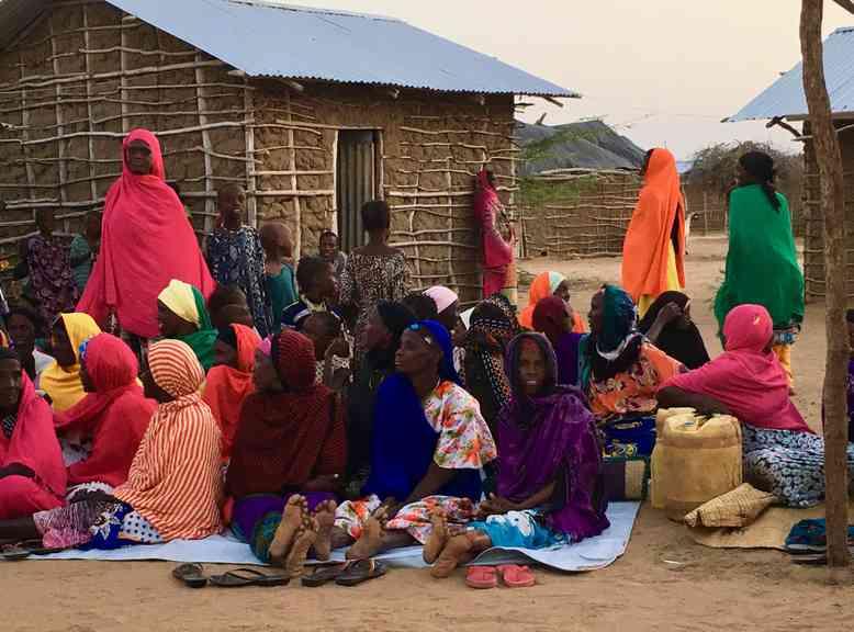 DERF project in Tana North, Kenya