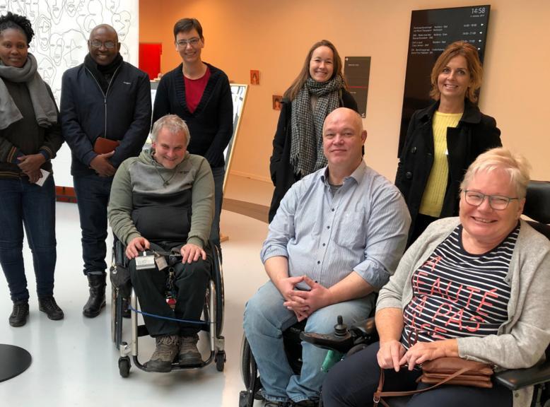 Samarbejde med handicaporganisationer